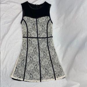 UEC Forver 21 lace fit n flare dress